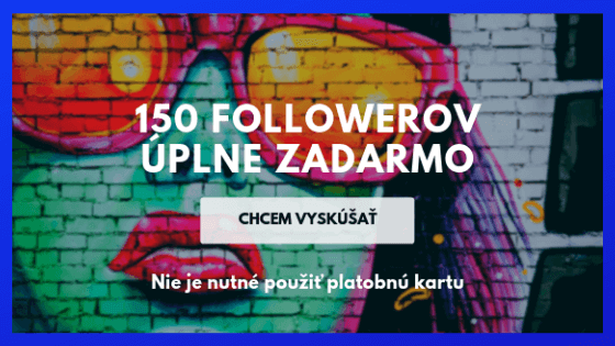 instagram zadarmo sledovatelia