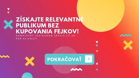 nákup slovenských followerov